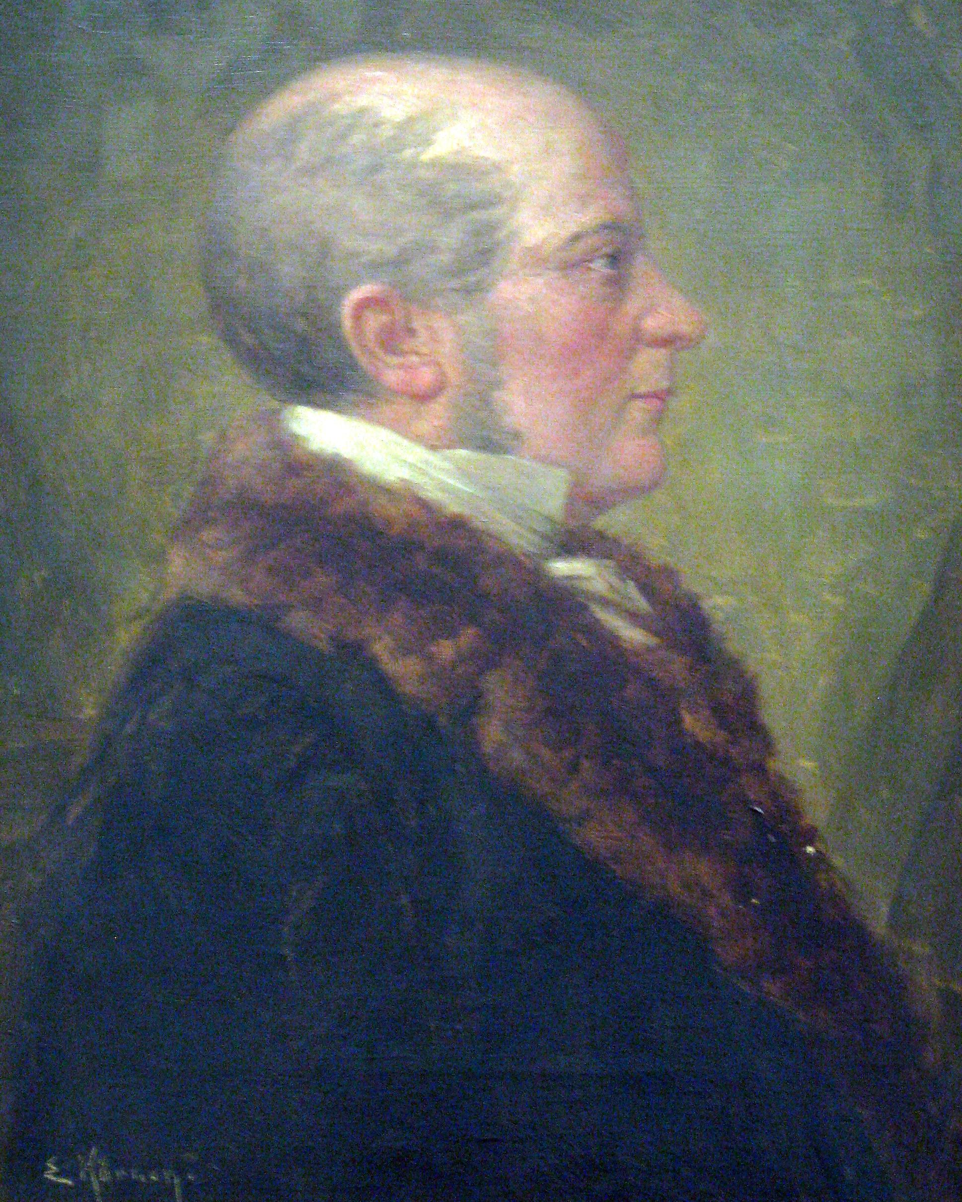 Christian Ernst Neeff  ehemaliger Präsident und Mitgründer des Physikalischen Vereins
