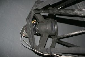 Primärfokus mit dreilinsigem Wynne-Korrektor