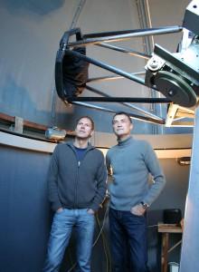 Stefan Karge (links) und Erwin Schwab