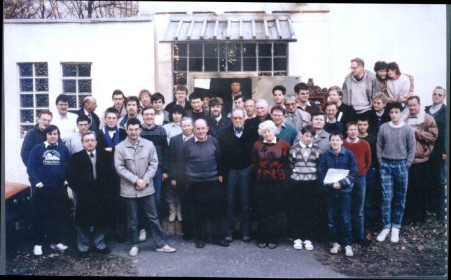 Jahreshauptversammlung 1987 Foto: Klaus Kemmerich
