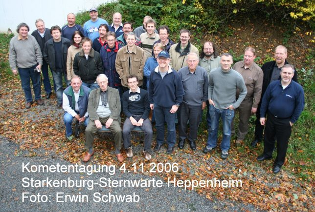 Kometentagung 2006 in Heppenheim